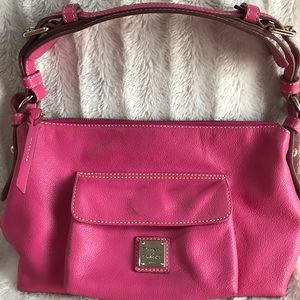 Dooney & Bourke ShoulderHobo handbag Fuchsia Pink